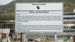 U MC-u Srebrenica postavljene ploče s informacijama od historijskog značaja