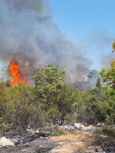 Požar u Neumu stavljen pod kontrolu