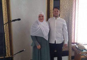 NJEMICA MAHANA TALIE DANAS PRIMILA ISLAM U DŽEMATU TRŽAC U CAZINU