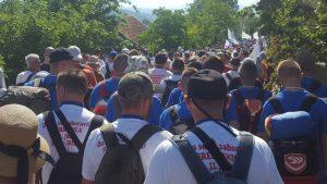 Tri učesnika Marša mira prevezena u Dom zdravlja Kalesija