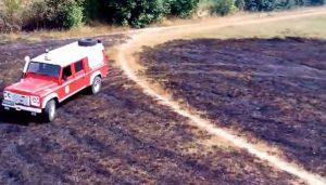 Zapaljen teren FK Sloga u Doboju